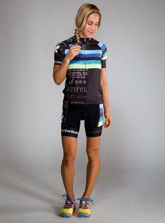 Betty Designs Womens World Champion Cycle Jersey