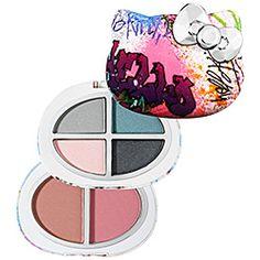 Hello Kitty - Graffiti Eyeshadow and Blush Palette  #sephora
