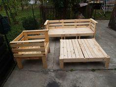 Pallet outdoor furniture set 101 pallets pallet outdoor furniture set