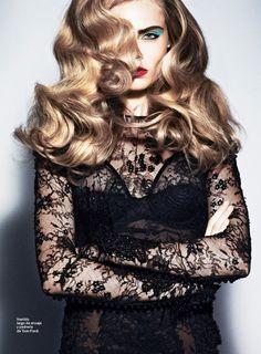 Cara Delevingne in Tom Ford forS ModaJanuary 2012