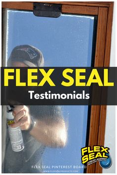 Flex Seal Testimonials And Customer Gallery Of Real Life Uses Of Flex Seal.  Including