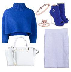 White double pocket khaki skirt
