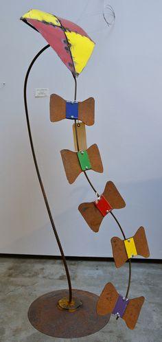 metal kite garden - Google Search