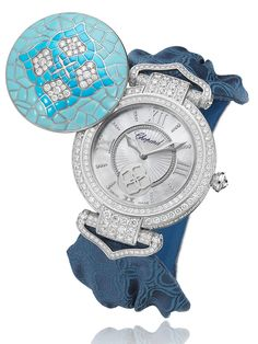 """Chopard Imperiale Joaillerie High Jewelry Watches - by Carol Besler - Head over to see these stunning pieces from Chopard at: aBlogtoWatch.com - """"Chopard is as famous for its glamorous red carpet jewelry collections and over-the-top jewelry watches as it is for its men's complications and in-house movements. Co-president Caroline Scheufele is a longtime patron of the Cannes Film Festival and designer to the stars..."""""""