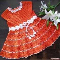 . Платье крючком. Ещё один хвастик