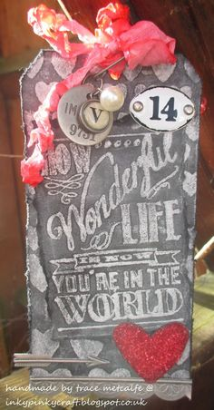 My take on Tim's tag for February 2014 - how wonderful life is...