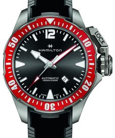 Hamilton Khaki Navy Frogman Watch Watch Releases