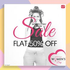 Get ready for the Women's day Week. Enjoy upto Flat 50% off on Womens Wear. Shop now at www.valentineclothes.com #womensday #internationalwomensday #specialoffers #valentine #valentineclothes #madewithlove #happyshopping