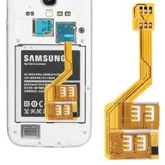 new dual Three SIM Card Adapter for Samsung Galaxy Note 3 Korea, Dual Sim, Shopping Sites, Samsung Galaxy S5, Galaxies, Cell Phone Accessories, Sims, History, Cards