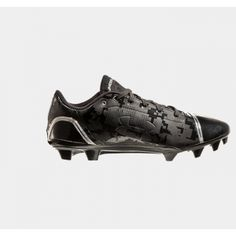 SALE - Under Armour Blur Football Cleats Mens Gray Synthetic - Was $109.99 - SAVE $20.00. BUY Now - ONLY $89.99