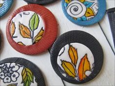 How to make pendant and brooche with polymer clay and fimo - YouTube