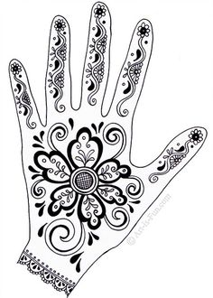 Your appreciation and crazy interest in Mehndi designs motivated me to bring before you yet another exciting and awesome post of Indian Mehndi designs & henna patterns. Mehndi gives… Henna Hand Designs, Henna Tattoo Designs, Mehndi Designs, Henna Tattoos, Henna Designs On Paper, Paisley Tattoos, Art Tattoos, Mehndi Art, Henna Mehndi