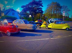 Funny cars I found! Norway, Tangen.