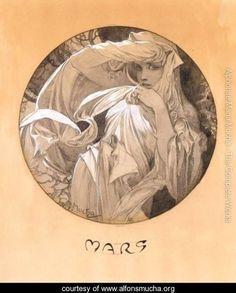 Mars - Alphonse Maria Mucha - www.alfonsmucha.org
