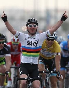 The Manx Missile takes his first victory of 2012 by winning stage 3 of the Tour of Qatar
