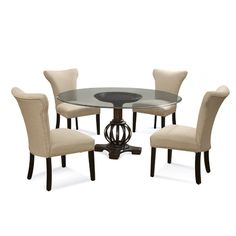 Shop For Bassett Mirror Company Grenadine Casual Dining Set And Other Room Tables At Kanes Of Sarasota Furniture In FL
