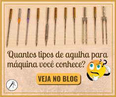 Quantos tipos de agulha você conhece_ Sewing Basics, Sewing Hacks, Basic Sewing, Patch Quilt, Sew On Patches, Couture, Diy Fashion, Needlework, Diy And Crafts