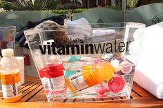 Vitamin Water Ice Bucket