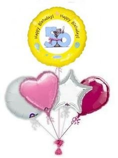 """Send balloons by post to brighten up some ones day. Put a smile on their face with unique lovely """"Me To You"""" birthday balloons. Why not make it a day to remember with our balloon gift ideas! 30th Birthday Balloons, 21st Birthday, Birthday Parties, Send Balloons, Helium Balloons, Balloon Delivery, Balloon Gift, Balloon Bouquet, A Day To Remember"""