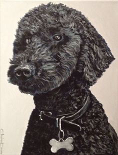 Order your painting of your dog at PalmaDog