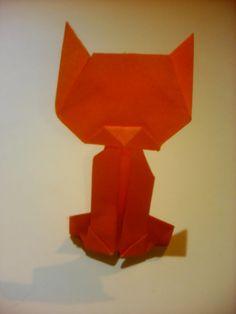 tutorial origami gato