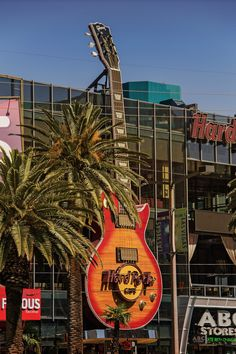The Hard Rock Cafe in Vegas