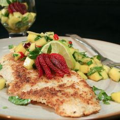 Coconut Crusted Pangasius Fillets-2 by Sonia! The Healthy Foodie, via Flickr