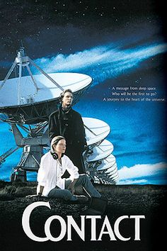 Contact (1997), the answers might not be out there, but within.