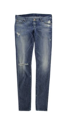 Women's 7 For All Mankind Vintage 7 Collection: The Skinny in Authentic Oceanside