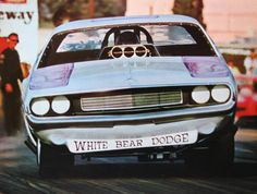 White Bear Dodge Challenger AA/FC Funny Car