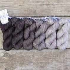 Pegasus - Gradient Set – Miss Babs Yarn Projects, Knitting Projects, Loom Knitting, Knitting Patterns, Crochet Supplies, Yarn Inspiration, Yarn Stash, Hand Dyed Yarn, Yarn Colors