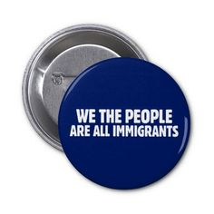 We The People Pinback Buttons