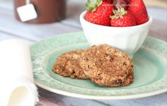 A recipe for an allergy friendly breakfast cookie that is grain free, nut free, dairy free, and refined sugar free.