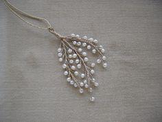 Kette Pendant Perlen