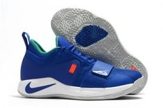 039aa27e1a0ba9 Hot Selling Nike Paul George PG 2. 5 Royal Blue Orange White Men s  Basketball Shoes
