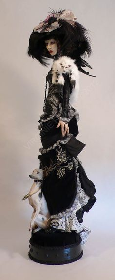Love this doll. It reminds me of dolls I used to create. Time to create again.