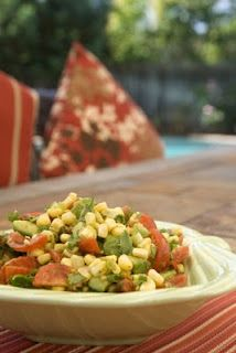 Always gathering recipes and this was a winner Corn Salad