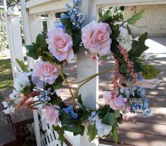 Twitterpaited  Spring Wreath by LinDisDoorDesigns on Etsy, $40.00