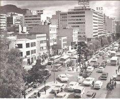 Bogotá, Carrera décima-Años 70. Japan Spring, Carrera, Spring Time, Liverpool, New York Skyline, Cities, Places, Travel, Bogota Colombia