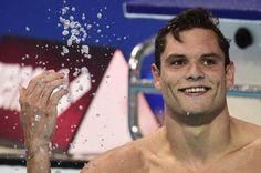 Florent Manaudou s'est imposé lors de la finale du 50 m nage libre ...