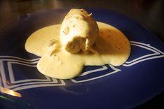 rollo de pollo Pancakes, Eggs, Breakfast, Food, Chicken Roll Ups, Sauces, Vegetables, Cooking, Essen