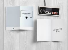 Download printable stuff:  https://www.etsy.com/it/listing/505888413/will-you-be-my-player-2-love-card?ref=shop_home_active_3