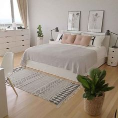 45 Outstanding Scandinavian Bedroom Design Ideas is part of Scandinavian design bedroom - When looking for ideas to create an interesting appearance for small bedrooms, I like to look at far bigger ideas […] Minimalist Room, Bedroom Ideas Minimalist, Stylish Bedroom, Small Modern Bedroom, Nice Bedrooms, Teenage Girl Bedrooms, Home Decor Bedroom, Master Bedroom, Room Design Bedroom