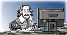 Shakespeare in the age of Facebook What role should his works play in your student's preparation for college? - See more at: http://hscollegebound.com/Newsletter-031814.htm#sthash.I2s6nPdq.dpuf