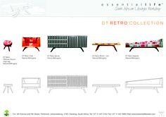 DT Retro Collection available at Essential Life! email us info@essentialliferetail.com #retro #furniture #designteam