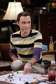 i love sheldon cooper and jim parsons. and his facial expressions.