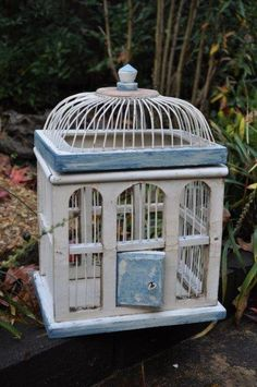 Birdcage - bought this for the cards!