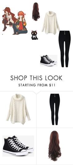 """MC (Mystic Messenger)"" by raven1wish on Polyvore featuring Converse"
