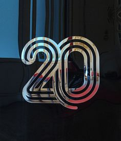 20 Years Identity by Pedro Matos, via Behance