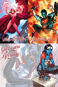 Marvel Nightcrawler -Kurt Wagner on Pinterest | Xmen, X ...